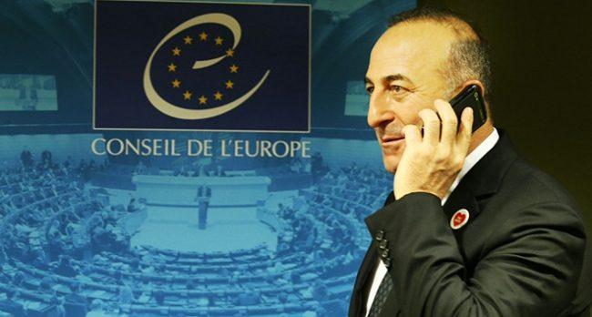 Bakan Çavuşoğlu ile Jagland telefonda görüştü