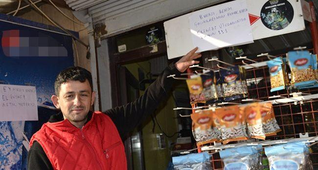 Market sahibinden iş yerine dadanan hırsızlara not