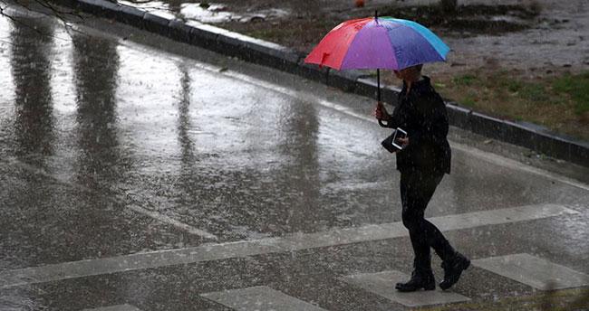 Dikkat ! Yağışla sıcaklıklar düşecek!